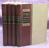 "Alexis historische Romane ""Cabanis"" 4 Bde um 1935 Belletristik Literatur sf"