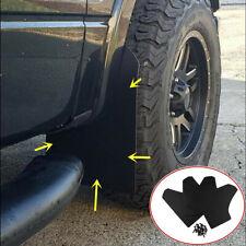 4x Car Splash Guards Mud Flaps Mudflaps Mudgurads Fender Protection Accessories