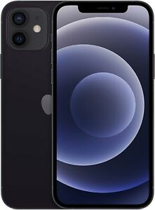 Apple iPhone 12 6.1'' 5G Smartphone 64GB Unlocked Dual-Sim - *Black* B
