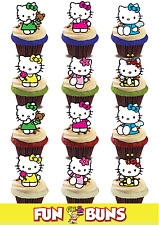 Hello Kitty MIX. Comestible Standup Tranche Gâteau Toppers Anniversaire Fun Kids Party
