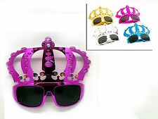 2 x Novelty Crown SunGlasses Fancy Dress Stag Disco Hen Birthday Costume Party