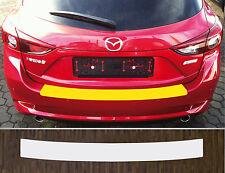Lackschutzfolie Ladekantenschutz transparent Mazda 3 Schrägheck, ab 2017