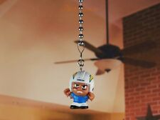 TeenyMates NFL Football San Diego Chargers Ceiling Fan Pull Light Lamp Chain 69S