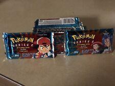 Pokemon Topps Tv Animation Series 2 Booster Packs*New*Sealed*NEW Mint