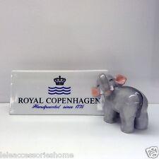 Royal Copenhagen Figurine - Elephant Fortuna Figurines - Elefante