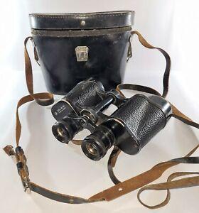 Vintage BNU 12 x 40 USSR Russian Binoculars in original case Set