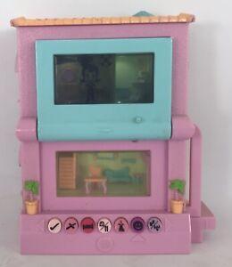 2006 Mattel Pixel Chix 2 Storey House - 14cm x 12cm x 5.5cm