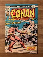 CONAN The BARBARIAN #49 (Marvel 1975) Neal Adams~Buscema~Wolf-Woman~Bronze Age