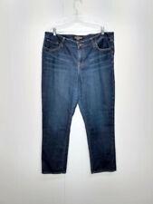 Lucky Brand WMs Plus 20WP Ginger Straight Leg Denim Jeans