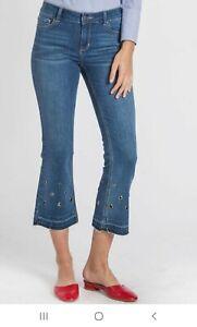 VELVET HEART SZ.29 Ellie High Rise Crop Ankle Jeans.