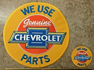 LARGE Chevy PARTS PATCH SEW ON