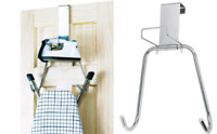 Polder Over The Door Ironing Board Hanger Iron Holder T Leg Storage Organiser
