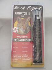 Buck Expert Predator III Call 3-in-1 Camo  Model 74-T NEW 1000C