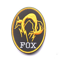 Metal Gear Solid Mgs Fox Hound Special Force Tactical Embroidered Patch