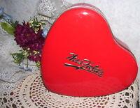 Mrs Fields Red Heart Tin Box