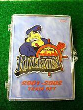 '01-02 ECHL AHL Peoria Rivermen Team Hockey Card Set St Louis Blues Alaska Aces