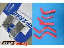 FOR Honda CR 250 R/CR250R 2-stroke 1985-1987 aluminum radiator + hose