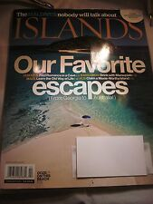 ISLANDS MAGAZINE FEBRUARY 2013 OUR FAVORITE ESCAPES BRAND NEW