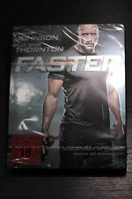 FASTER blu-ray STEELBOOK german import Brand NEW sealed (Dwayne Johnson)