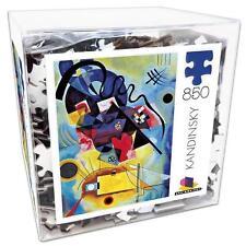 CEACO JIGSAW PUZZLE MODERN ART YELLOW-RED-BLUE, 1925 KANDINSKY 850 PCS