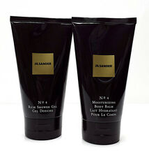 Jil Sander NO 4 **Rich Shower Gel 150 ml + Moisturizing Body Balm 150 ml NEU/OVP
