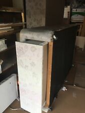 Kingsize 2 piece double divan bed base - With Drawers