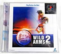 PS Wild Arms 2nd Ignition PlayStation the Best 2-DISC  [NTSC-J] Japan Import