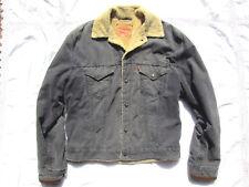 Blouson Levi's XL TRUCKER Vintage Levis Red Tab Fur Lined Corduroy Sherpa Jacket