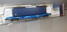 Roco H0 76748  _ Einheitstaschenwagen _ SNCB _ Container  _  Epoche V -VI __ NEU