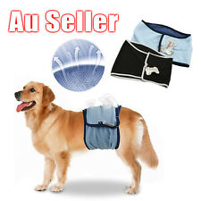 XS-XL Male Dog Puppy Nappy Diaper Belly Wrap Band Sanitary Pants Underpants OZ