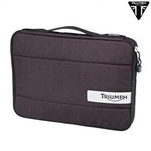 Tasche Laptop PC Schwarz/Grau IN Cordura Original TRIUMPH Performance KUBE4