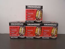 Lot of 4 Microgard MGL57899 Engine Oil Filter ( ref:  WIX 57899  ) New in Box