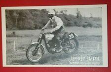 BSA  Scrambles & Trails Rider  Jeffrey Smith  Vintage Photo Card