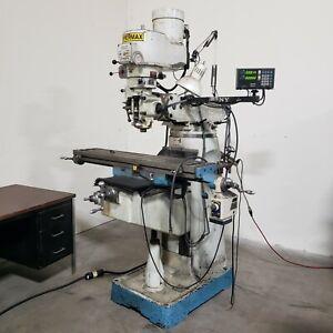 SuperMax Vertical Milling Machine, 3 hp, Model: Y -1 1/2VS-49