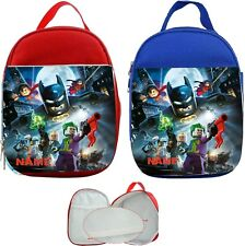 Lego Batman #1 Personalised Childs Lunch Bag
