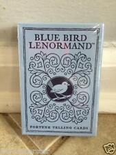 BLUE BIRD LENORMAND FORTUNE TELLING CARDS ORACLE TAROT DECK BOOKLET CAT ResQ
