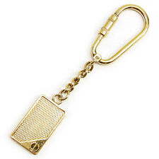 Dunhill key ring Key holder Gold Woman unisex Authentic Used T1263