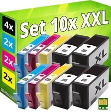 10x PATRONEN für HP 920-XL MIT CHIP OFFICEJET 6000 6500A 7000 7500A E809a E710n