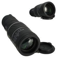 10x40 Dual Focus Optic Lens Day Night Vision Monocular Scope Telescope+Cap Black