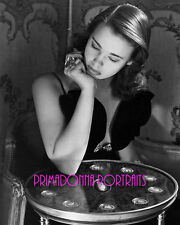 "GLORIA VANDERBILT 8X10 Lab Photo 1950s ""HORST P. HORST"" Bejeweled Portrait"