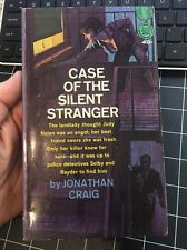 Case Of The Silent Stranger By Jonathan Craig Rare Mystery Paperback Gold Medal
