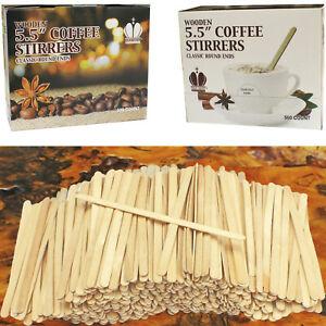 Wooden Coffee Stirrers, Coffee Stir Sticks, Wooden Tea Stirring Sticks TWO PACKS