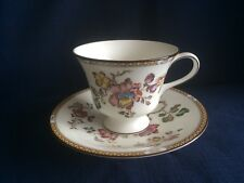 Wedgwood Swallow tea cup & saucer ( minor scratches to saucer centre)