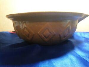 Vintage Ceramic Mixing Bowl beige