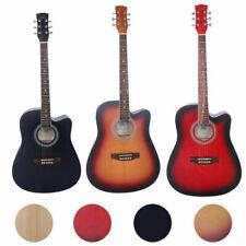 Glarry Spruce Wood Front Cutaway Folk Acoustic Guitar w/Bag Shield Wrench Gifs