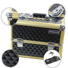 Beauty Case Make Up DynaSun BS36 XXL Nero Oro Gold Valigia Cofanetto Porta Gioie