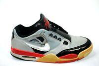 2009 Nike Air Flight Condor Men's Basketball Shoes 344575-011 Gray/Red Sz 11