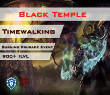 [EU] Black Temple Timewalking Raid Schwarzer Tempel Zeitwanderung WoW Transmog