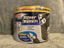 Silver Bullet Pocket Hose Expanding 50ft with Bonus Spray Nozzle