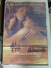 Vintage 1 sheet 27x41 Movie Poster The Prince Of Tides 1991 Nick Nolte